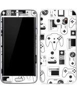 Retro Gaming Controllers Galaxy S6 Edge Skin