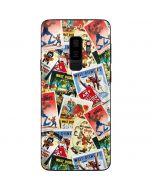 Retro Goofy Stamps Galaxy S9 Plus Skin