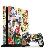 Retro Goofy Stamps PS4 Console and Controller Bundle Skin