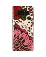 Rose Bud Floral Galaxy Note 8 Skin