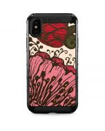 Rose Bud Floral iPhone X Cargo Case