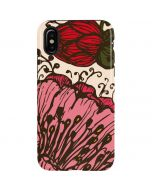 Rose Bud Floral iPhone X Pro Case