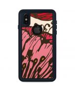 Rose Bud Floral iPhone XS Waterproof Case