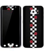 Rose Checkerboard Galaxy S6 Edge Skin