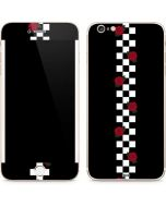 Rose Checkerboard iPhone 6/6s Plus Skin