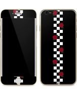 Rose Checkerboard iPhone 6/6s Skin