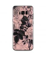 Rose Quartz Floral Galaxy S8 Plus Skin