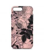 Rose Quartz Floral iPhone 7 Plus Pro Case