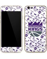 Sacramento Kings History Logo Blast iPhone 6/6s Skin