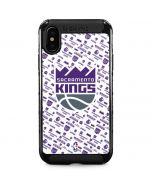 Sacramento Kings History Logo Blast iPhone XS Max Cargo Case