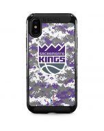 Sacramento Kings Purple Digi Camo iPhone XS Max Cargo Case