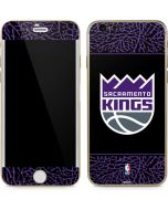 Sacramento Kings Purple Elephant Print iPhone 6/6s Skin