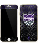 Sacramento Kings Purple Pixels iPhone 6/6s Skin