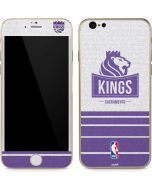 Sacramento Kings Purple Static iPhone 6/6s Skin