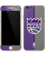 Sacramento Kings Split Canvas iPhone 6/6s Skin