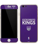 Sacramento Kings Standard - Purple iPhone 6/6s Skin