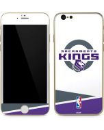 Sacramento Kings White Split iPhone 6/6s Skin