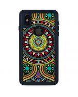 Sacred Wheel Colored iPhone X Waterproof Case