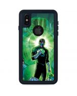 Salute to Green Lantern iPhone XS Waterproof Case