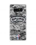 San Antonio Spurs Digi Camo Galaxy Note 8 Skin