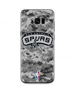 San Antonio Spurs Digi Camo Galaxy S8 Skin