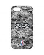 San Antonio Spurs Digi Camo iPhone 8 Pro Case
