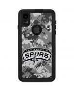 San Antonio Spurs Digi Camo iPhone XR Waterproof Case