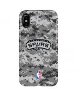 San Antonio Spurs Digi Camo iPhone XS Max Pro Case