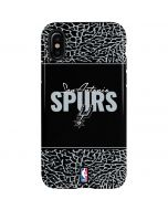 San Antonio Spurs Elephant Print iPhone XS Max Pro Case