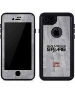 San Antonio Spurs Hardwood Classics iPhone 7 Waterproof Case
