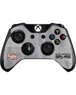 San Antonio Spurs Hardwood Classics Xbox One Controller Skin