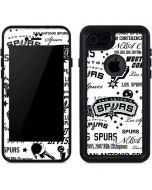 San Antonio Spurs Historic Blast iPhone 7 Waterproof Case
