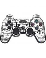 San Antonio Spurs Historic Blast PS3 Dual Shock wireless controller Skin