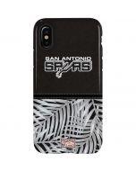San Antonio Spurs Retro Palms iPhone XS Max Pro Case