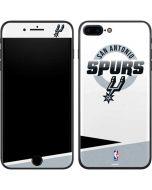 San Antonio Spurs Split iPhone 8 Plus Skin