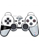 San Antonio Spurs Split PS3 Dual Shock wireless controller Skin