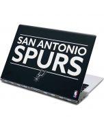 San Antonio Spurs Standard - Black Yoga 910 2-in-1 14in Touch-Screen Skin