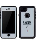 San Antonio Spurs Standard - Grey iPhone 7 Waterproof Case