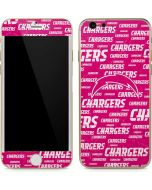 Los Angeles Chargers Pink Blast iPhone 6/6s Skin