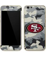 San Francisco 49ers Camo iPhone 6/6s Skin