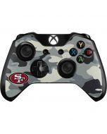 San Francisco 49ers Camo Xbox One Controller Skin