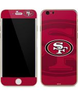 San Francisco 49ers Double Vision iPhone 6/6s Skin