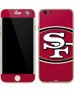 San Francisco 49ers Large Logo iPhone 6/6s Skin