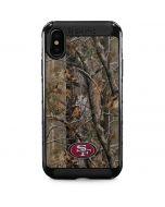 San Francisco 49ers Realtree AP Camo iPhone XS Max Cargo Case