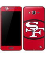 San Francisco 49ers Retro Logo Galaxy Grand Prime Skin