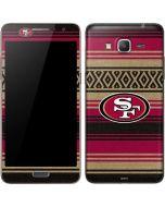San Francisco 49ers Trailblazer Galaxy Grand Prime Skin
