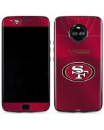 San Francisco 49ers Team Jersey Moto X4 Skin