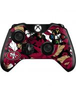 San Francisco 49ers Tropical Print Xbox One Controller Skin