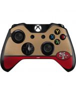 San Francisco 49ers Vintage Xbox One Controller Skin