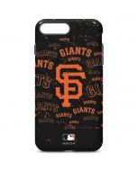 San Francisco Giants - Cap Logo Blast iPhone 7 Plus Pro Case